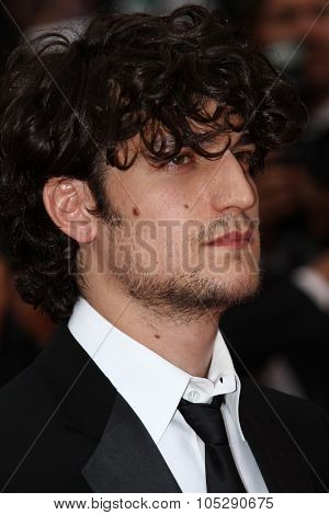 CANNES, FRANCE - MAY 22: Louis Garrel attends the 'Les Bien-Aimes' premiere at the Palais des Festivals during the 64 Cannes  Festival at Palais des Festivals on May 22, 2011 in Cannes, France.