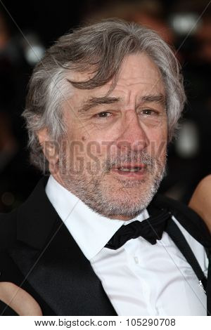 CANNES, FRANCE - MAY 22: Robert De Niro attends the 'Les Bien-Aimes' premiere at the Palais des Festivals during the 64th Cannes Film Festival on May 22, 2011 in Cannes, France