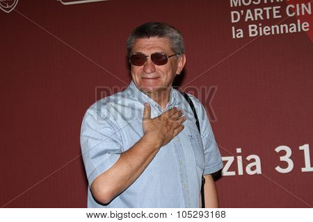 VENICE, ITALY - SEPTEMBER 08: Director Aleksandr Sokurov  poses at the 'Faust' photocall at the Palazzo del Cinema during the 68th Venice Film Festival on September 8, 2011 in Venice, Italy.