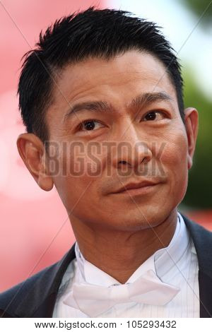 VENICE, ITALY - SEPTEMBER 05: Andy Lau attends 'Tao Jie' Premiere at Palazzo del Cinema on September 5, 2011 in Venice, Italy.