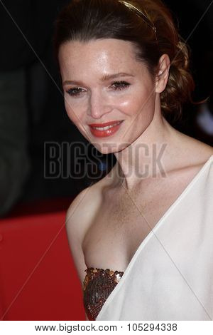 BERLIN, GERMANY - FEBRUARY 09: Karoline Herfurth attends the 'Les Adieux De La Reine' Premiere during of the 62nd Berlin Film Festival at the Berlinale Palast on February 9, 2012 in Berlin, Germany.