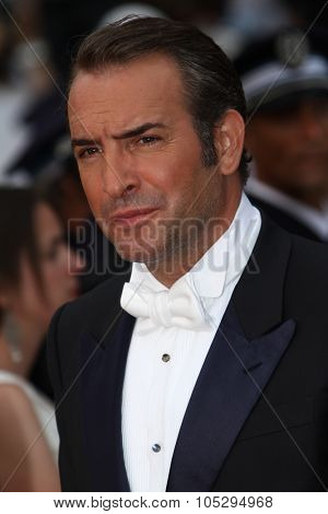 CANNES, FRANCE - MAY 22: Jean Dujardin attends the 'Les Bien-Aimes' premiere at the Palais des Festivals during the 64th Cannes Film Festival on May 22, 2011 in Cannes, France