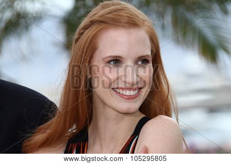 CANNES, FRANCE - MAY 19: Jessica Chastain attends the 'Lawless' Photocall during the 65th Annual Cannes Film Festival at Palais des Festivals on May 19, 2012 in Cannes, France.