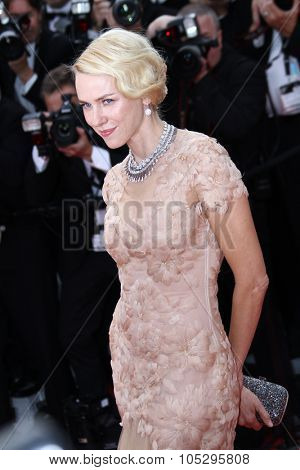 CANNES, FRANCE - MAY 18:  Naomi Watts attends the 'Madagascar 3: Europe's Most Wanted' Premiere during the 65th Cannes Festival at Palais des Festivals on May 18, 2012 in Cannes, France.