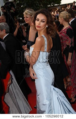 CANNES, FRANCE - MAY 19: Madalina Ghenea attends the 'Lawless' Premiere attends the 'Lawless' Premiere during the 65th  Cannes  Festival at Palais des Festivals on May 19, 2012 in Cannes, France.