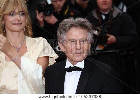 CANNES, FRANCE - MAY 21:  Nastassja Kinski  and Roman Polanski attend the 'Vous N'avez Encore Rien Vu' premiere during the 65 Cannes  Festival at Palais des Festivals on May 21, 2012 in Cannes, France