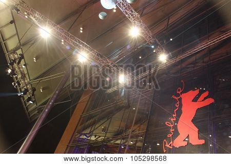 BERLIN, GERMANY - FEBRUARY 16: Berlinale Palast, the main venue at the 63th Berlinale International Film Festival on February 16, 2013 in Berlin, Germany