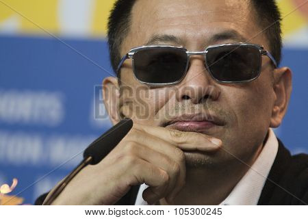 BERLIN, GERMANY - FEBRUARY 07: Wong Kar Wai attends 'The Grandmaster' Press Conference during the 63rd Berlinale Film Festival at the Grand Hyatt on February 7, 2013 in Berlin, Germany.
