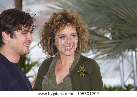 CANNES, FRANCE - MAY 18: Director Valeria Golino attends the photocall for 'Miele' during The 66th Annual Cannes Film Festival at Palais des Festivals on May 18, 2013 in Cannes, France.