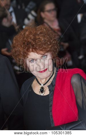 CANNES, FRANCE - MAY 18: Andrea Ferreol attends the Premiere of 'Jimmy P. (Psychotherapy Of A Plains Indian)' at The 66th Annual Cannes Film Festival on May 18, 2013 in Cannes, France.