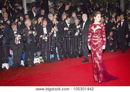 CANNES, FRANCE - MAY 18: Cheryl Cole attends the Premiere of 'Jimmy P. (Psychotherapy Of A Plains Indian)' at The 66th Annual Cannes Film Festival on May 18, 2013 in Cannes, France.
