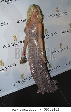 ANTIBES, FRANCE - MAY 21: Victoria Silvstedt  attends the de Grisogono Party during the 66th International Cannes Film Festival at Hotel Du Cap on May 21, 2013 in Antibes, France.