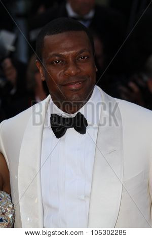 CANNES, FRANCE - MAY 21: Chris Tucker attends 'Behind The Candelabra' Premiere during The 66th Annual Cannes Film Festival on May 21, 2013 in Cannes, France.