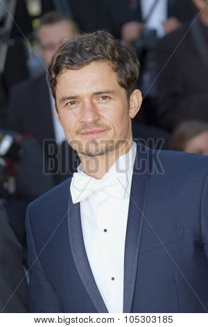 CANNES, FRANCE - MAY 26: Orlando Bloom attends the Premiere of 'Zulu' and the Closing Ceremony of The 66th  Cannes Film Festival at Palais on May 26, 2013 in Cannes, France.