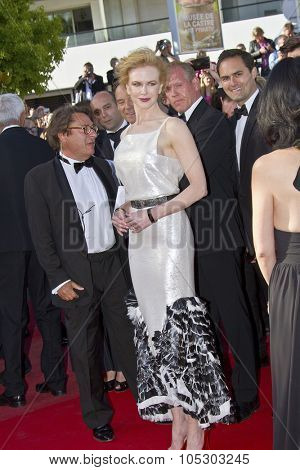 CANNES, FRANCE - MAY 25: Nicole Kidman arrives at 'Venus In Fur' Premiere during the 66th Annual Cannes Film Festival at Grand Theatre Lumiere on May 25, 2013 in Cannes, France.