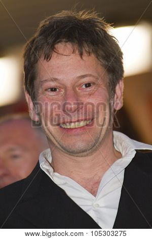 CANNES, FRANCE - MAY 25: Mathieu Amalric arrives at 'Venus In Fur' Premiere during the 66th Annual Cannes Film Festival at Grand Theatre Lumiere on May 25, 2013 in Cannes, France.