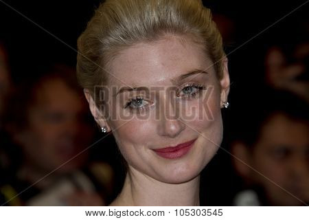 CANNES, FRANCE - MAY 15:  Elizabeth Debicki  attends 'The Great Gatsby' Premiere during the 66th Annual Cannes Film Festival at the Theatre Lumiere on May 15, 2013 in Cannes, France.