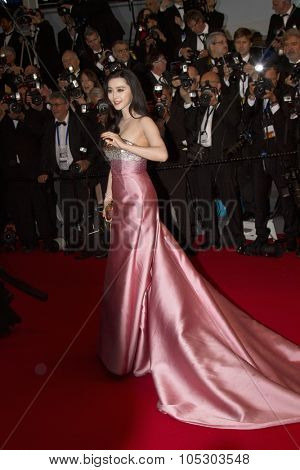 CANNES, FRANCE - MAY 15:  Bingbing Fan  attends 'The Great Gatsby' Premiere during the 66th Annual Cannes Film Festival at the Theatre Lumiere on May 15, 2013 in Cannes, France.
