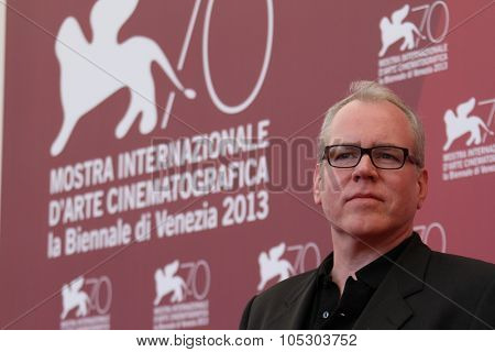 VENICE, ITALY - AUGUST 30: Screenwriter Bret Easton Ellis attends 'The Canyons' Photocall during The 70th Venice International Film Festival at Palazzo Del Casino on August 30, 2013 in Venice, Italy.