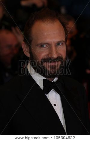 BERLIN, GERMANY - FEBRUARY 06:   Ralph Fiennes   attends 'The Grand Budapest Hotel' Premiere during the 64th Berlinale Film Festival at Palast on February 6, 2014 in Berlin, Germany