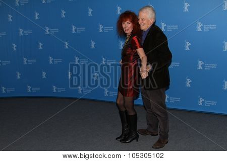 BERLIN, GERMANY - FEBRUARY 10: Sabine Azema  attends the 'Life of Riley' (Aimer, boire et chanter) photocall during 64th Berlinale Festival at Palast on February 10, 2014 in Berlin, Germany.