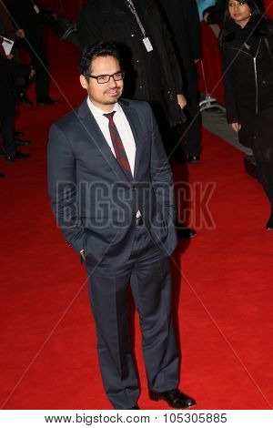 BERLIN, GERMANY - FEBRUARY 12: Michael Pena attends the 'Cesar Chavez' premiere during 64th Berlinale Festival at Friedrichstadt-Palast on February 12, 2014 in Berlin, Germany.
