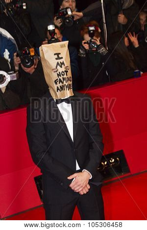 BERLIN - FEB 9: Shia LaBeouf at the 'Nymphomaniac Volume I' premiere - 64th Berlinale International Film Festival at Berlinale Palast on February 9, 2014 in Berlin, Germany