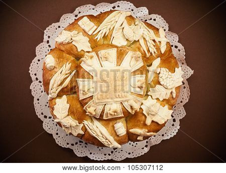 Slava Cake Decoration