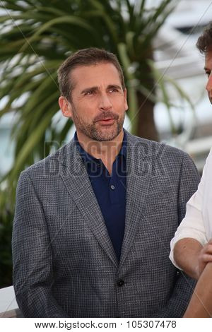 CANNES, FRANCE - MAY 19: Steve Carell attends the 'Foxcatcher' photocall at the 67th Annual Cannes Film Festival on May 19, 2014 in Cannes, France.