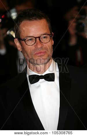 CANNES, FRANCE - MAY 18: Guy Pearce  attends 'The Rover' premiere during the 67th Annual Cannes Film Festival on May 18, 2014 in Cannes, France