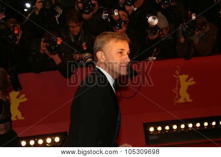 BERLIN, GERMANY - FEBRUARY 05: Christoph Waltz   attends the opening party during the 65th Berlinale International Film Festival at Berlinale Palace on February 5, 2015 in Berlin, Germany.