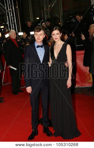 BERLIN, GERMANY - FEBRUARY 09:  Dane DeHaan and his wife Anna Wood attend the 'Life' premiere during the 65th Berlinale  Film Festival at Zoo Palast on February 9, 2015 in Berlin, Germany.