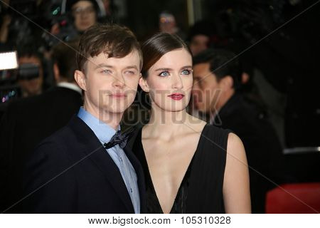 BERLIN, GERMANY - FEBRUARY 09:  Dane DeHaan and his wife Anna Wood attends the 'Life' premiere during the 65th Berlinale  Film Festival at Zoo Palast on February 9, 2015 in Berlin, Germany.