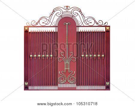 Modern  Steel Decorative  Gates.