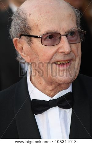 CANNES, FRANCE - MAY 13: Director Manoel de Oliveira attends the 'On Tour' Premiere at the Palais des Festivals during the 63rd Cannes Film Festival on May 13, 2010 in Cannes, France.