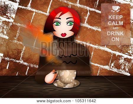 Coffee Break Woman