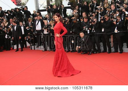 Katrina Kaif attends the 'Mad Max : Fury Road' Premiere during the 68th annual Cannes Film Festival on May 14, 2015 in Cannes, France.
