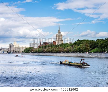 City Landscape Of Moscow
