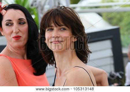 Sophie Marceau, Rossy de Palma attends the Jury photocall during the 68th annual Cannes Film Festival on May 13, 2015 in Cannes, France.