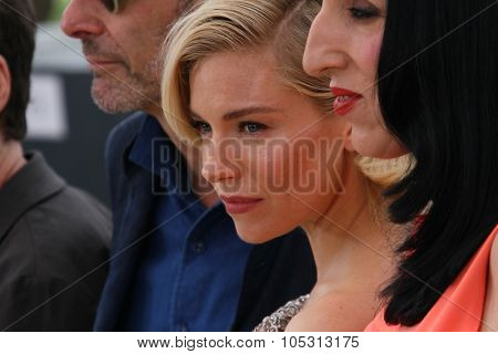 Sienna Miller attends the Jury photocall during the 68th annual Cannes Film Festival on May 13, 2015 in Cannes, France.