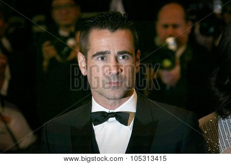 Colin Farrell attends the 'Lobster' Premiere during the 68th annual Cannes Film Festival on May 15, 2015 in Cannes, France.