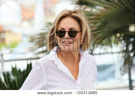 Marthe Keller attends the 'Amnesia' Photocall during the 68th annual Cannes Film Festival on May 19, 2015 in Cannes, France.