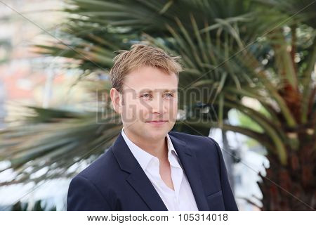 Max Riemelt attends the 'Amnesia' Photocall during the 68th annual Cannes Film Festival on May 19, 2015 in Cannes, France.