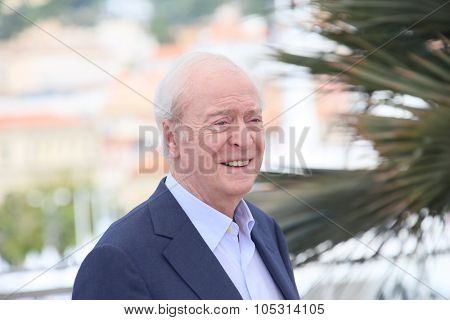 Sir Michael Caine  attends the 'Youth' Photocall during the 68th annual Cannes Film Festival on May 20, 2015 in Cannes, France.