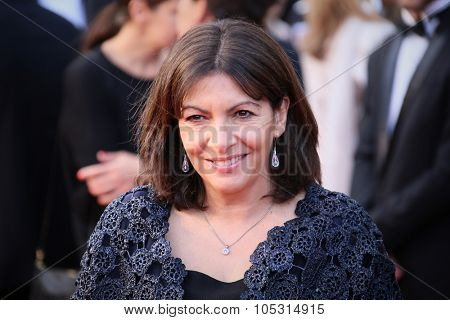 Anne Hidalgo attends the Premiere of 'Irrational Man' during the 68th annual Cannes Film Festival on May 15, 2015 in Cannes, France.