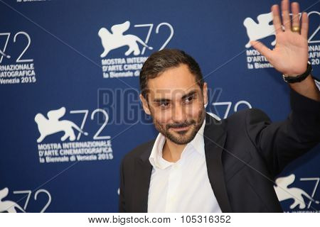 Piero Messina  attends a photocall for 'The Wait' during the 72nd Venice Film Festival at Palazzo del Casino on September 5, 2015 in Venice, Italy.