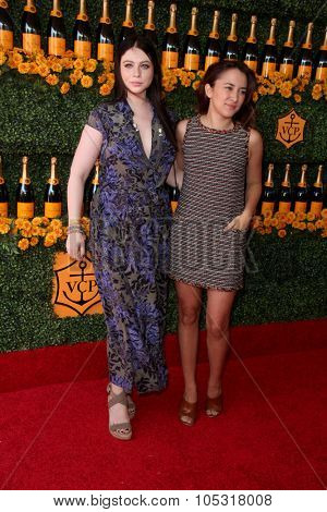 LOS ANGELES - OCT 17:  Michelle Trachtenberg, Zelda Williams at the Sixth-Annual Veuve Clicquot Polo Classic at the Will Rogers State Historic Park on October 17, 2015 in acific Palisades, CA
