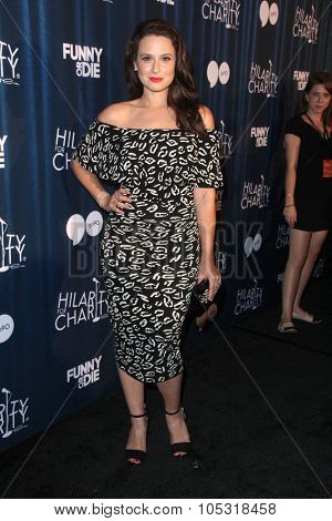 LOS ANGELES - OCT 17:  Katie Lowes at the Hilarity for Charity`s James Franco`s Bar Mitzvah at the Hollywood Paladium on October 17, 2015 in Los Angeles, CA