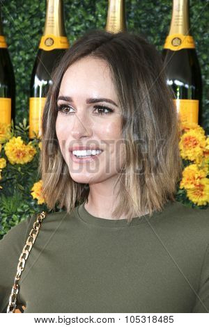 LOS ANGELES - OCT 17:  Louise Roe at the Sixth-Annual Veuve Clicquot Polo Classic at the Will Rogers State Historic Park on October 17, 2015 in acific Palisades, CA