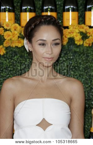 LOS ANGELES - OCT 17:  Cara Santana at the Sixth-Annual Veuve Clicquot Polo Classic at the Will Rogers State Historic Park on October 17, 2015 in acific Palisades, CA
